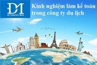 Kinh nghiệm làm kế toán trong công ty du lịch – Kế toán Đức Minh