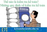 Thế nào là kiểm tra kế toán? Những quy định về kiểm tra kế toán – Kế toán Đức Minh