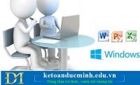 Có nên học Tin học văn phòng Online hay không? - Tin học Đức Minh.