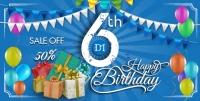 Mừng sinh nhật 6 năm khuyến mại giảm đến 50% học phí các khóa học kế toán, tin học