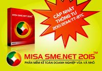 Hướng dẫn khởi tạo dữ liệu ban đầu trong phần mềm kế toán MISA SME.NET 2015 (Phần 3)