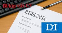 Bí kíp viết CV xin việc hút mắt và chuyên nghiệp
