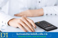 Cách định khoản kế toán, nguyên tắc khi định khoản kế toán- Kế toán Đức Minh