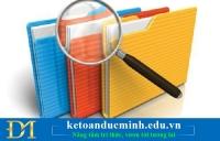 Các biểu mẫu dùng cho doanh nghiệp sử dụng hoá đơn điện tử - Kế toán Đức Minh.