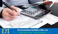 Cách viết hóa đơn hàng tặng không thu tiền - Kế toán Đức Minh.