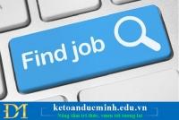 Giúp bản thân tìm kiếm công việc dễ dàng hơn với 4 câu hỏi sau