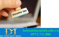 Các khoản được miễn thuế và giảm trừ khi tính thuế TNCN