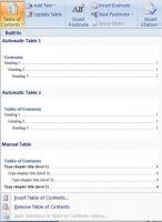 Cách tạo mục lục tự động hiệu quả trên Word 2007