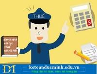 Tổng hợp địa chỉ Chi cục Thuế tại Hà Nội mới nhất năm 2019 – Kế toán Đức Minh.