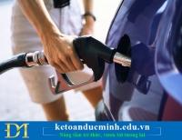Tính sao với chi phí xăng dầu của xe thuê mượn trong DN