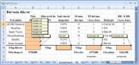 Cách chèn comment trong Excel