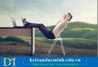 8 mẹo tâm lý giúp cuộc sống văn phòng của kế toán trở nên dễ dàng hơn