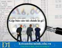 Gộp báo cáo tài chính là gì? Điều kiện để gộp báo cáo tài chính?- Kế toán Đức Minh