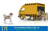 Hỗ trợ vận chuyển có phải kê khai chịu thuế GTGT không?