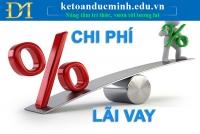 Hạch toán chi tiết chi phí lãi vay HỢP LÝ hoặc KHÔNG hợp lý theo TT200 và TT133
