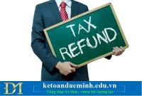 Các bước nộp giấy đề nghị hoàn thuế điện tử.