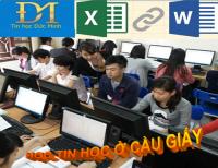 Khóa học tin học văn phòng ở Cầu Giấy - Trung tâm Tin Học Đức Minh