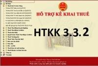 Thông báo về việc Nâng cấp ứng dụng Hỗ trợ kê khai tờ khai mã vạch (HTKK) phiên bản 3.3.2