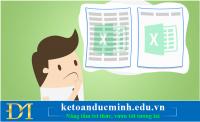 Cách in file Excel trên một trang giấy A4 - Kế toán Đức Minh.