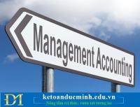 Tìm hiểu về Kế toán quản trị trong doanh nghiệp – Kế toán Đức Minh.