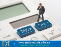 Hướng dẫn cách kê khai thuế môn bài qua mạng 2018– Kế toán Đức Minh.