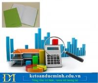 Tổng hợp những nghiệp vụ liên quan đến công cụ dụng cụ - Kế toán Đức Minh