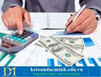 Tổng hợp những nghiệp vụ liên quan đến tiền mặt phần 2 - Kế toán Đức Minh.