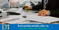 Hướng dẫn làm công việc kế toán XDCB và TSCĐ chi tiết –  Kế toán Đức Minh