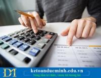 Kiểm tra chi phí tiền lương trước khi quyết toán thuế TNDN - Kế toán Đức Minh.