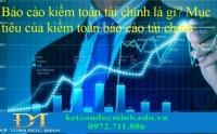 Kiểm toán báo cáo tài chính là gì? Mục tiêu của kiểm toán báo cáo tài chính