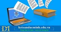 Doanh nghiệp cần chú ý gì khi lưu trữ hóa đơn điện tử? - Kế toán Đức Minh.