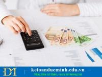Những lưu ý nhỏ về kế toán tiền lương khi thực hiện quyết toán thuế