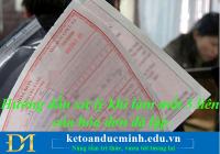 Hướng dẫn xử lý khi làm mất 3 liên của hóa đơn đã lập – Kế toán Đức Minh.