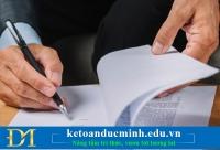 Mẫu biên bản điều chỉnh hóa đơn sai tên, địa chỉ công ty – Kế toán Đức Minh