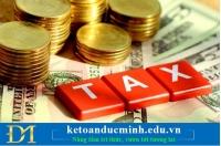 Nộp thuế thay cho chủ nhà của đơn vị đi thuê cần những thủ tục gì?
