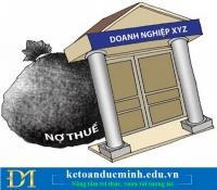 Doanh nghiệp bị cưỡng nợ thuế được sử dụng hóa đơn bán lẻ hay không?