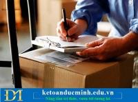 Tổng hợp những nghiệp vụ liên quan đến hàng tồn kho phần 2- Kế toán Đức Minh.