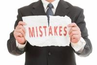 Những sai lầm nghiêm trọng kế toán viên hay mắc phải