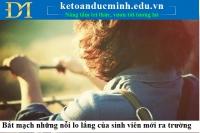 Bắt mạch những nỗi lo lắng của sinh viên mới ra trường – Kế toán Đức Minh