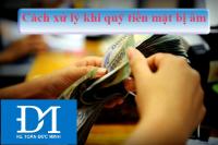 Làm gì khi quỹ tiền mặt bị âm?
