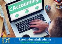 Tìm hiểu về học kế toán thực hành Online - Kế toán Đức Minh.