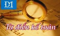 Tự học 1000 từ vựng Tiếng Anh chuyên ngành kế toán hay dùng- chủ đề thuật ngữ kế toán và tài khoản