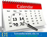 08 công việc doanh nghiệp cần làm trong tháng 10/2019 – Kế toán Đức Minh.