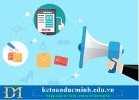 Xử lý một số trường hợp phát sinh khi Thông báo phát hành hóa đơn – Kế toán Đức Minh.