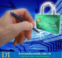 Thông báo tài khoản ngân hàng- Bắt buộc hay tự nguyện