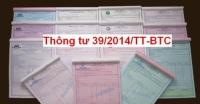 Nguyên tắc và cách lập hóa đơn GTGT theo Thông tư 39/2014/TT-BTC