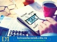 Phương pháp kế toán đối với thuế thu nhập doanh nghiệp.