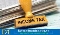 Những quy định về thuế thu nhập cá nhân