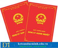 Các trường hợp bị thu hồi giấy chứng nhận đăng ký doanh nghiệp – Kế toán Đức Minh