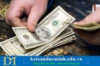Thu chi hộ kế toán có phải xuất hoá đơn không?
